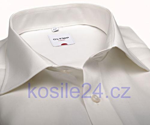 Koszula Olymp Luxor Comfort Fit Uni Popeline - champagne