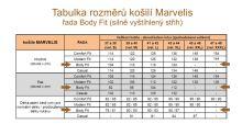 Koszula Marvelis Body Fit – biała
