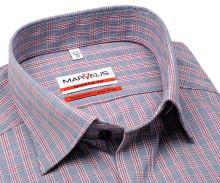 Koszula Marvelis Modern Fit – w czerwono-niebieską kratę