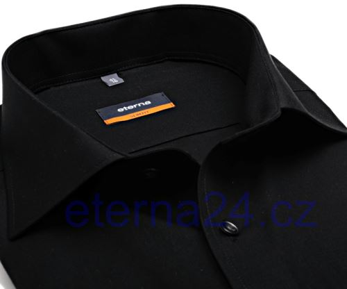 Koszula Eterna Slim Fit - czarna