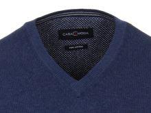 Bawełniany sweter Casa Moda – niebieski