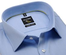 Koszula Olymp Super Slim Twill – luksusowa, nieprześwitująca jasnoniebieska