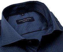 Koszula Casa Moda Comfort Fit Premium – niebieska w czerwono-białe kropki