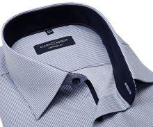 Koszula Casa Moda Comfort Fit Premium – w niebieskie paski, z wewnętrzną stójką i mankietem