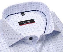 Koszula Eterna Modern Fit Cool Shirt – ekskluzywna w wyszyty niebieskie wzór