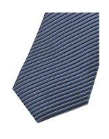 Krawat slim Olymp – ciemnoniebieski w paski
