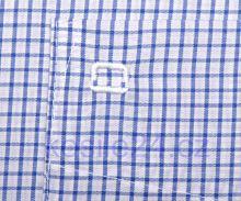 Koszula Olymp Luxor Comfort Fit - w niebieską krateczkę