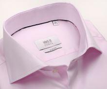 Koszula Eterna 1863 Slim Fit Twill - luksusowa różowa - super długi rękaw