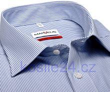Koszula Marvelis Comfort Fit– w niebieskie prążki