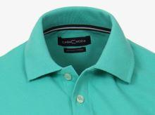 Koszulka polo Casa Moda - zielonkawa z kołnierzykiem