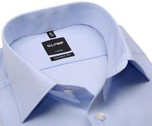 Koszula Olymp Luxor Modern Fit - jasnoniebieska z podwójnymi mankietami