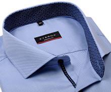 Koszula Eterna Modern Fit Twill – jasnoniebieska z kołnierzykiem wewnętrznym