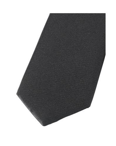 Krawat super slim Olymp - czarny