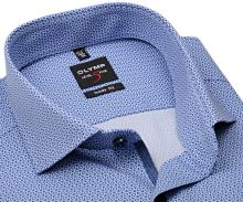 Koszula Olymp Level Five – w niebieski wzór - extra długi rękaw