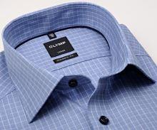 Koszula Olymp Modern Fit – niebieska z białą kostką