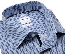 Koszula Olymp Comfort Fit – z niebieskim wzorem sześciokąta