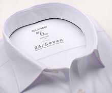 Koszula Olymp Super Slim 24/Seven – biała streczowa