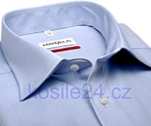 Koszula Marvelis Comfort Fit Chambray – błękitna – extra długi rękaw