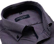 Koszula Casa Moda Comfort Fit Premium – w czerwono-niebieski wyszyty wzór