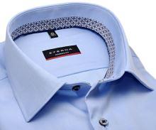 Koszula Eterna Modern Fit Cover - jasnoniebieska luksusowa i nieprześwitująca - super długi rękaw
