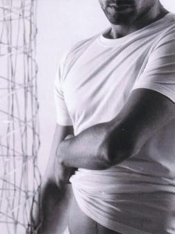Bílé jemné bavlněné tričko eterna s krátkým rukávem – kulatý výstřih