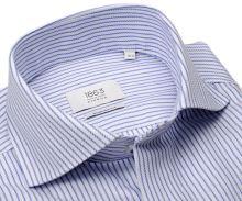 Koszula Eterna 1863 Modern Fit Two Ply - luksusowa w niebieskie paski