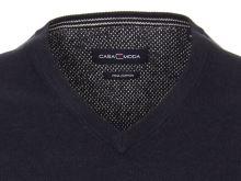 Bawełniany sweter Casa Moda - granatowy