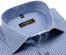 Koszula Eterna Slim Fit - w niebieskie gwiazdki