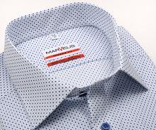Koszula Marvelis Modern Fit – biała w niebieskie kropki