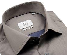 Koszula Eterna 1863 Modern Fit Twill - luksusowa w kolorze taupe