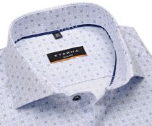 Koszula Eterna Slim Fit Cool Shirt – ekskluzywna w wyszyty niebieskie wzór
