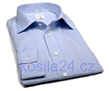 Koszula Olymp Luxor Comfort Fit Chambray - jasnoniebieska