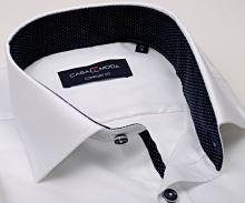 Koszula Casa Moda Comfort Fit Premium – biała ze strukturą - super długi rękaw