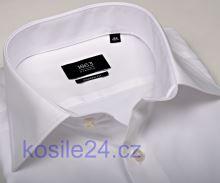 Koszula Eterna 1863 Modern Fit Twill - luksusowa - biała - extra długi rękaw