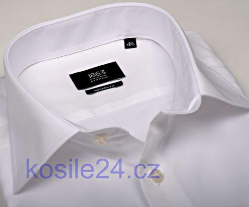Koszula Eterna 1863 Modern Fit Twill - luksusowa - biała
