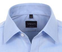 Koszula Venti Body Fit – jasnoniebieska - super długi rękaw