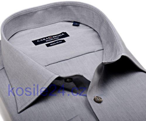 Koszula Casa Moda Modern Fit - szara - super długi rękaw