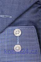 Koszula Olymp Luxor Modern Fit – ciemniejsza białoniebieska ze wzorem