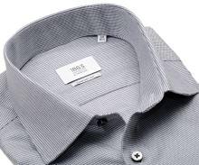 Koszula Eterna 1863 Comfort Fit Two Ply NEVER IRON - luksusowa z wyszytym szarym wzorem