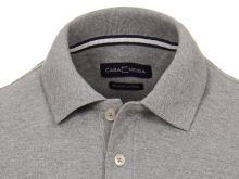 Koszulka polo Casa Moda - szara z kołnierzykiem