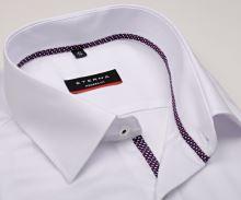 Koszula Eterna Modern Fit Fine Oxford - biała z delikatną strukturą i plisą wewnętrzną