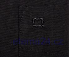 Koszula Olymp Luxor Comfort Fit - czarna - krótki rękaw