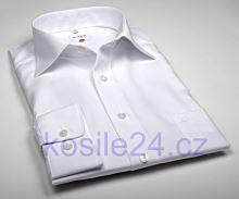 Koszula Olymp Luxor Comfort Fit Uni Popeline - biała