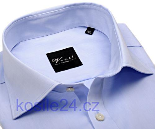Venti Modern Fit Twill – koszula jasnoniebieska