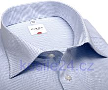 Koszula Olymp Luxor Comfort Fit - w jasnoniebieską krateczkę