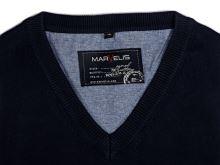 Bawełniany sweter Marvelis - granatowy