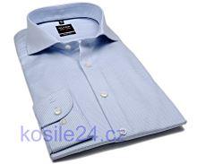 Koszula Olymp Level Five Diamant Twill – jasnoniebieska ze wzorem