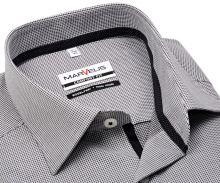 Koszula Marvelis Comfort Fit – z czarnym wyszytym wzorem