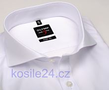 Olymp Level Five – biała koszula z podwójnymi mankietami - extra długi rękaw