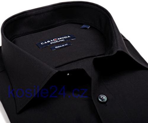 Koszula Casa Moda Modern Fit – czarna - super długi rękaw